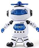 Miposaur Robot Best Deals - Babrit Kids Electronic Robot Dancing Robot Smart Space Robot Astronaut Music Light Toy