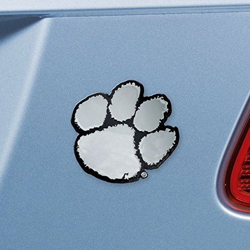 FANMATS NCAA Clemson University Tigers Chrome Team Emblem