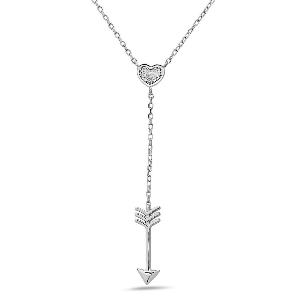 Crush /& Fancy Heart Shape Pendant Necklaces Made with 925 Sterling Silver and German Crystals 16-18 inch Chain Included