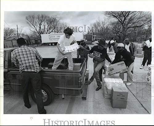 1993 Press Photo Pleasant Grove Missionary Baptist Church members, Houston