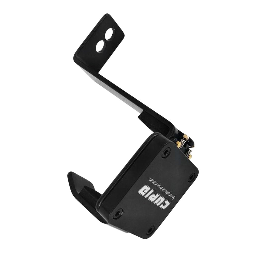 MagiDeal Smartphone Camera Bow Mount Holder Clamp Black