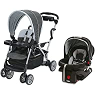 Graco RoomFor2 Click Connect Stand and Ride Stroller Travel System
