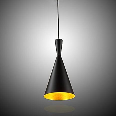Moderna Industrial Iluminación colgante - 60W LED Metal Vintage Pantallas de Iluminación, Retro Lámpara de Techo para Loft Restaurante Coffee Bar ...