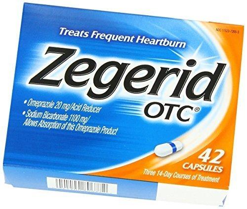 Zegerid OTC Capsules, Mega Size Package 84-Count by Zegerid