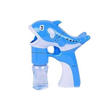Stobok Automática Burbujas De Pistola Dolphin Máquina eIWHYD2E9