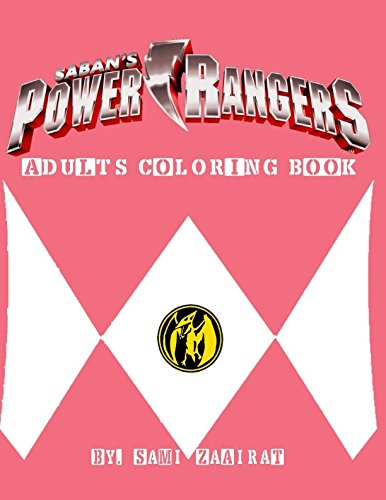 Power Rangers: Adults Coloring Book (Power Rangers (colors))