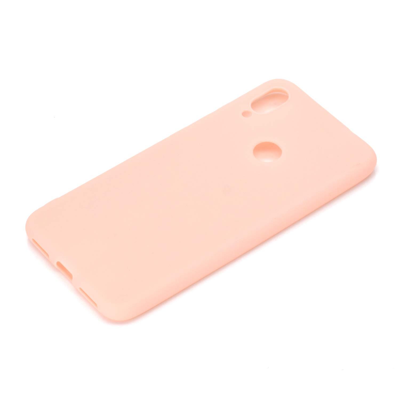 Verde Funda para Xiaomi Redmi Note 7 Pro Anfire Carcasa Silicona Gel TPU Case Ultra Delgado Suave Mate Goma Protectora Caso para Xiaomi Redmi Note 7 Flexible Caja Ligero Case Cover Tapa Color Jalea