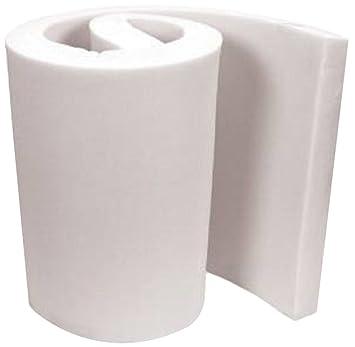 """foamma densidad media para tapicería espuma hoja 3 """"x 24"""" x 84 """""""