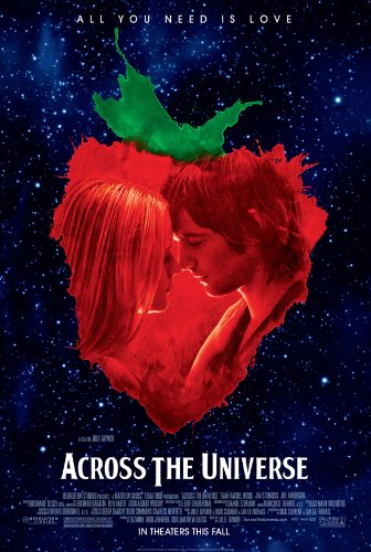 ACROSS THE UNIVERSE MOVIE POSTER 2 Sided ORIGINAL 27x40 JIM