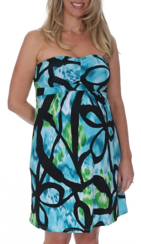 Lauren Kiyomi I.T.Y. Strapless Dress (Maternity) - More Prints Available