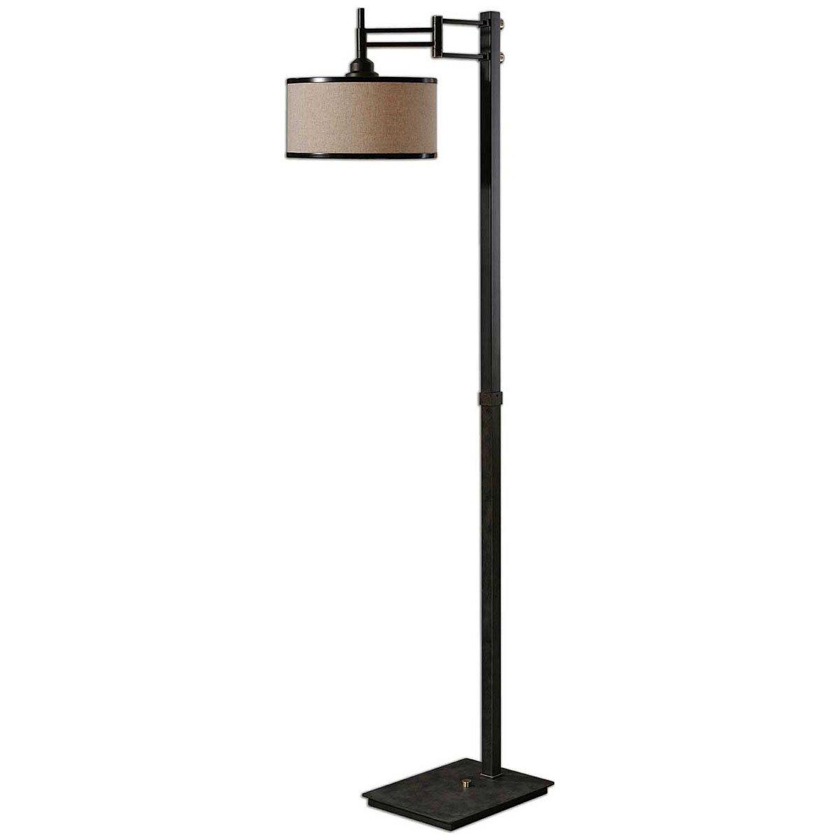 Uttermost 28587-1 Prescott Metal Floor Lamp