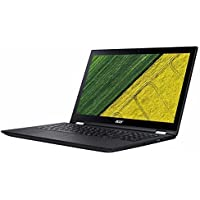 Acer Spin 3 15.6 FHD IPS (1920 x 1080) Multi-Touch LCD panel Screen 2-in-1 Laptop - Intel Dual-Core i7 -7500U 2.7GHz 1080p, 12GB DDR4, 1TB 5400RPM HDD, Intel HD 620 Graphics, Windows 10-Shale Black