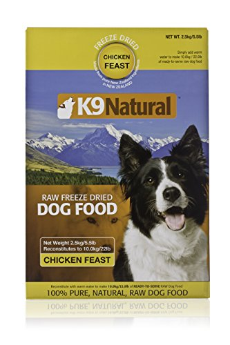 K9 Natural/Feline Natural Freeze Dried Pet Food, 5.5-Pound, Chicken