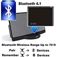 BMR A2DP Bluetooth 4.1 Music Receiver Adapter for Bose SoundDock, iPhone, Samsung, Nokia, HTC, LG, Echo Alexa