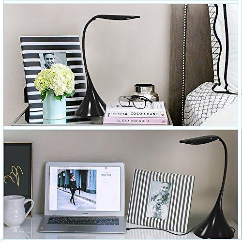 Lavish Home 72-Ledusb-B Touch Sensor Lamp Black by Lavish Home (Image #3)