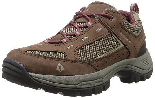 Vasque Women's Breeze 2.0 Low Gore-Tex Hiking Shoe, Slate Brown/Red Mahogany,9 M US by Vasque