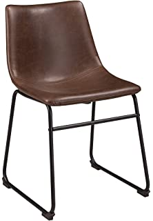Signature Design By Ashley D372 01 Centaur Dining Chairs, Brown/Black