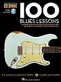 100 Blues Lessons: Guitar Lesson Goldmine Series Bk/Online Audio
