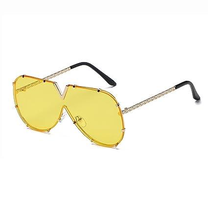 LX-LSX Gafas de Sol con Lentes conjuntas Hombres Mujeres V ...