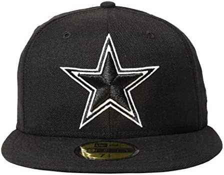 682dbf6a7 New Era Dallas Cowboys Omaha II 59Fifty Fitted Hat, Black, 7. Loading  Images.