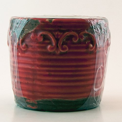 Red Currant Swan Creek Round Vintage Pot (Color: - Vintage Pottery