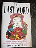 The Last Word, Donald Sinden, 1861053614