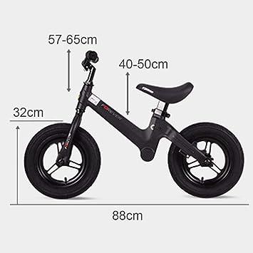 Amazon.com: Bicicleta de equilibrio para niños sin pedal ...