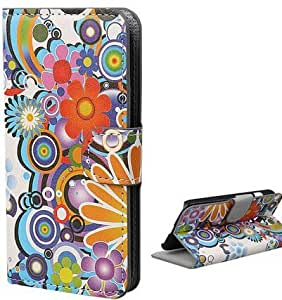 G3 Case,case for LG G3,Thinkcase Flower Wallet Leather Carrying Case Cover With Credit ID Card Slots Flip leather case For LG G3 03#