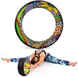 Yoga EVO 13'' Yoga Wheel – Strong & Comfortable Dharma Yoga Prop For Inversions &...