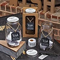 Top Shelf Wedding Wish Jar Unique And Thoughtful Gift Ideas For Newlyweds Novelty Bridal Shower Engagement Party And Wedding Reception Kit Comes With 100 Tickets And Decorative Lid Decorative