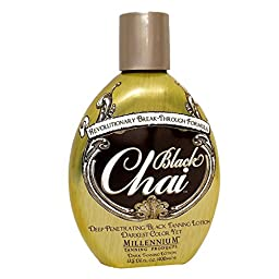 Millennium BLACK CHAI Deep Penetrating Black Tanning Lotion - 13.5 oz.