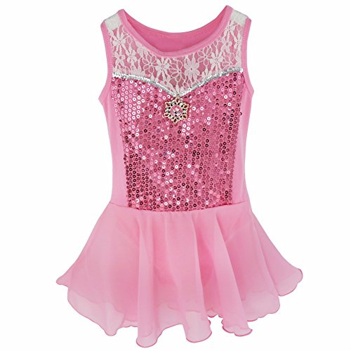 New Fashion Sagester Style149 Italian Lace Figure Skating Dress With Crystals Red Small Exquisite In Workmanship
