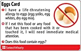 Egg Allergy Translation Card - Translated in Thai or any of 30 languages