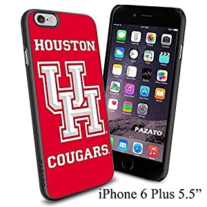 NCAA UH HOUSTON COUGARS Cool Case Cover For Apple Iphone 5C Smartphone Collector iphone PC Hard Case Black