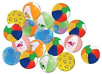 Amazon.com: Kangaroo 25 balones de playa de 8 pulgadas para ...