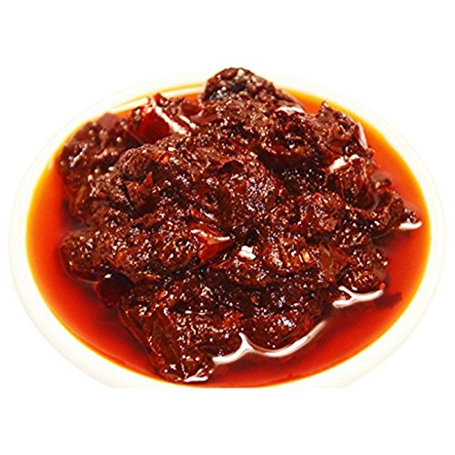 SOEOS Sichuan Pixian Boad Bean Paste, Pixian Doubanjiang Chili Paste, Hong You Dou Ban with Red Chili Oil, Soybean Paste, 1 LB (2 Indivisual Packs included).