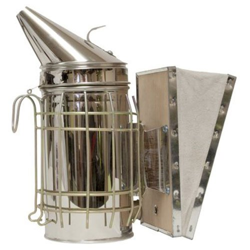 - HARVEST LANE HONEY Standard Smoker, For The Backyard Beekeeper, Made with Leather Bellows