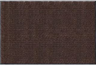 product image for Apache Mills Rib Commercial Carpeted Indoor and Outdoor Floor Mat, Cocoa Brown, 4-feet by 6-Feet