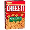 Cheez-It Baked Snack Crackers, Reduced Fat, 11.5-Ounce Boxes (Pack of 4)