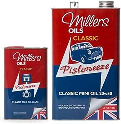 Millers - Aceite mineral clásico para motor de motor de motor de ...