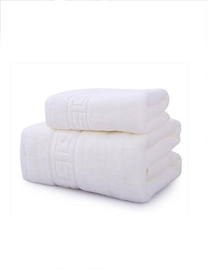 Toallas de baño Grandes de algodón Simples absorbentes 1 Toalla de baño Grande de Toallas de