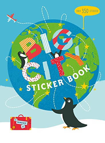Big City Sticker Book: Over 350 Stickers!