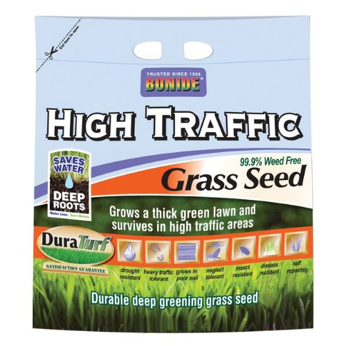 Bonide 60289 High Traffic Grass Seed, 50-Pound by Bonide