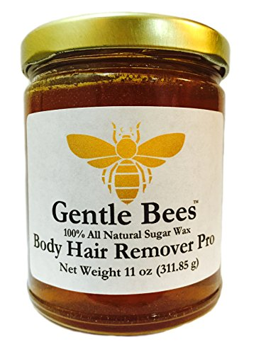 Gentle Bees Body Hair Remover Pro, Sugar Wax (Hair Wrap Kit)