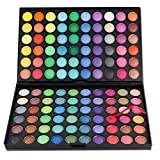 Pure Vie Professional 120 Colors EyeShadow Palette Makeup Contouring Kit #2 - Perfect for Professional as well as Personal Use
