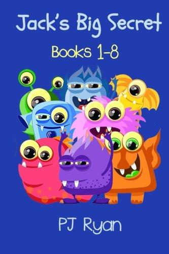 Jack's Big Secret: Books 1-8 (a fun short story series for children ages 8-10)