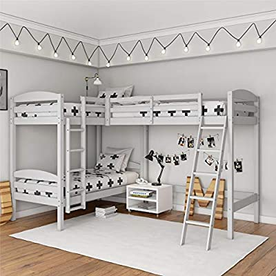 Dorel Living Clearwater Triple Bunk Bed