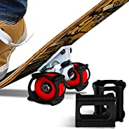 Skateboard Trick Trainer - The Fastest, Safest Way to Master New Tricks – Learn to Land Kickflips Without The