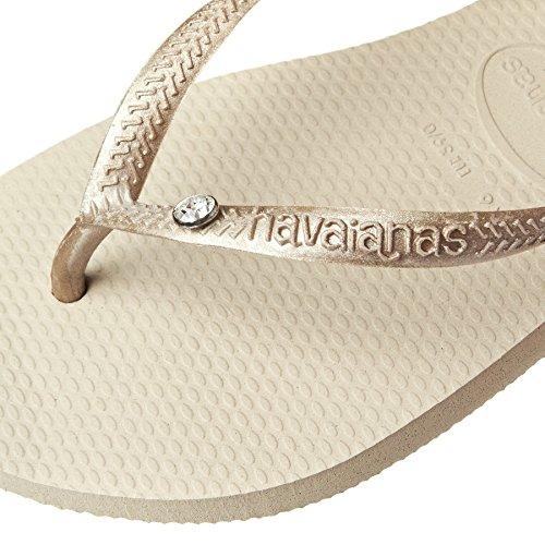 Havaianas Chanclas Mujer Slim Crystal Glamour Sw Sand/Grey/Light