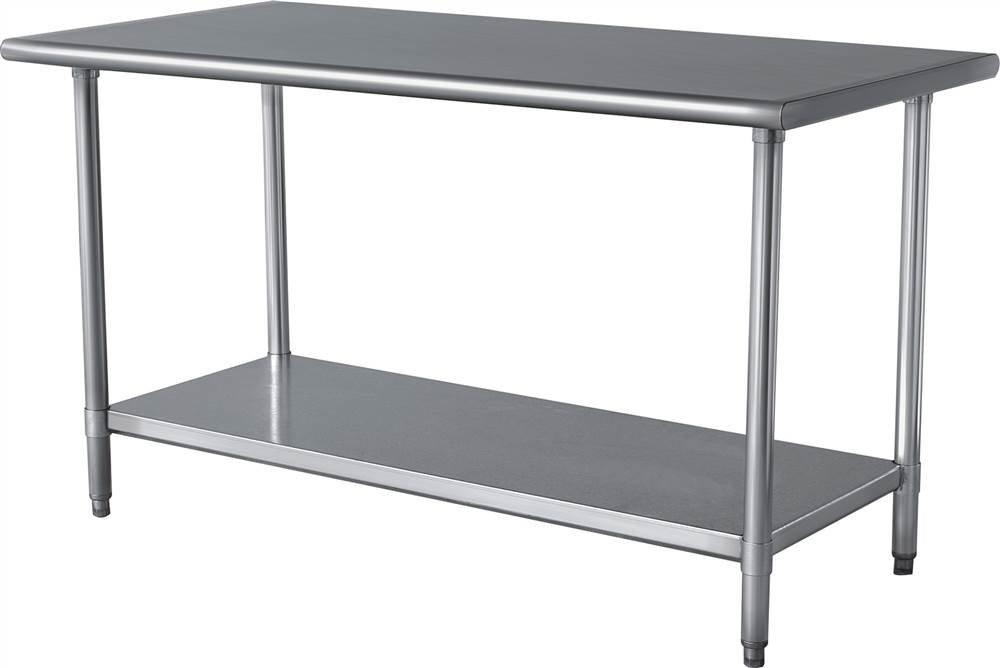 Amazon Com 24 In X 49 In Stainless Work Table Utility Tables